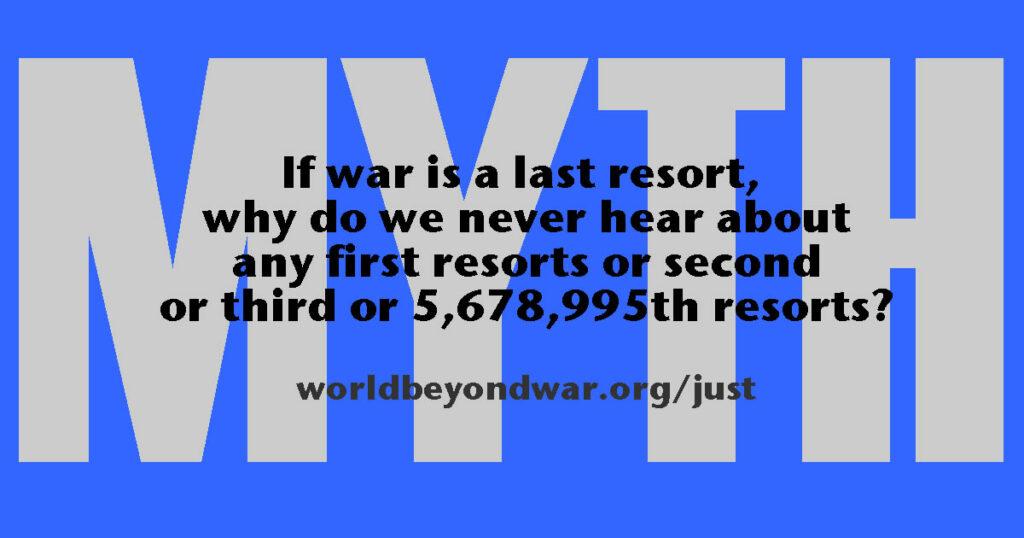 War Is Just