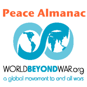 World Beyond War Peace Almanac
