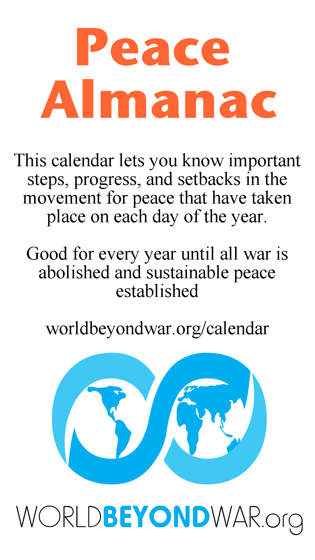 Peace Almanac October - World Beyond War