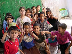 Palestinian_children_in_Jenin