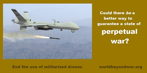 End the Use of Militarized Drones