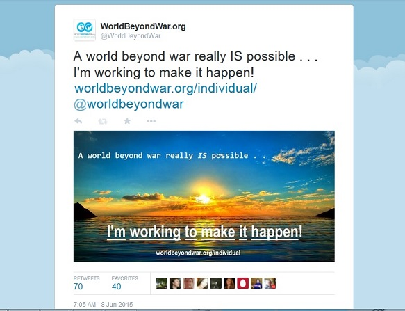 Social Media for a World Beyond War