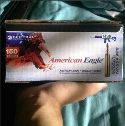 American Eagle bullets