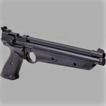 Pellet air pistol