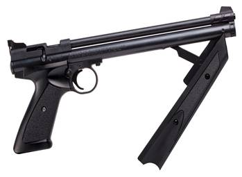 Pump-action pistol