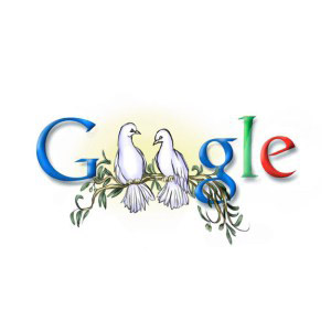 Google Doodle - peace