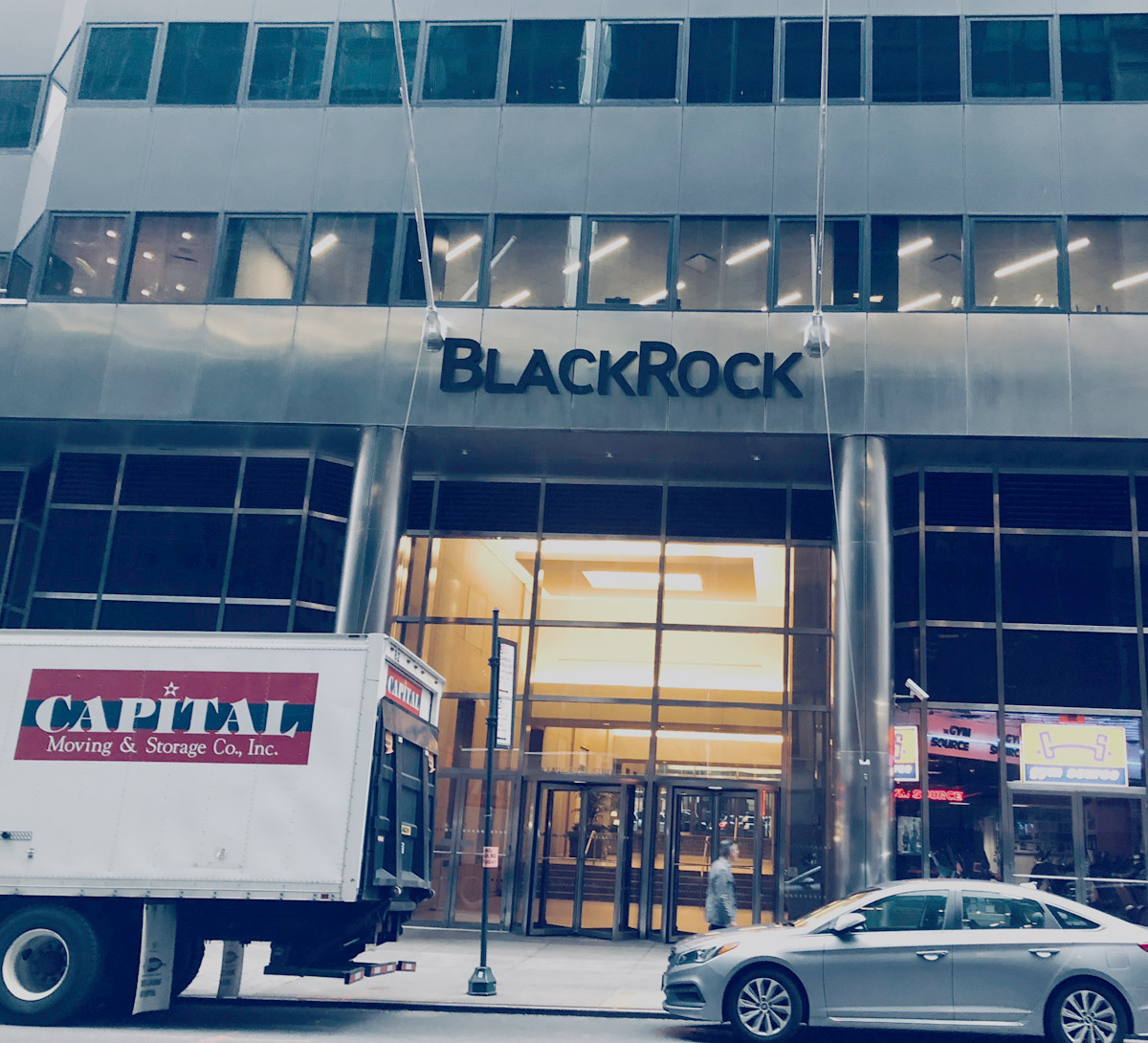 BlackRock office in Manhattan, NY