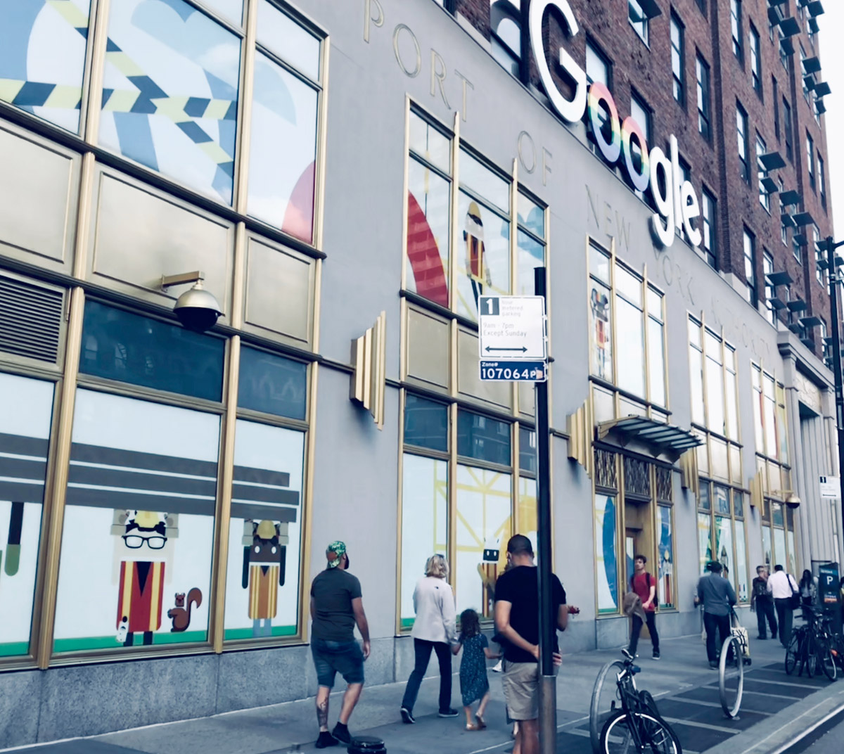 Google's Chelsea New York City office