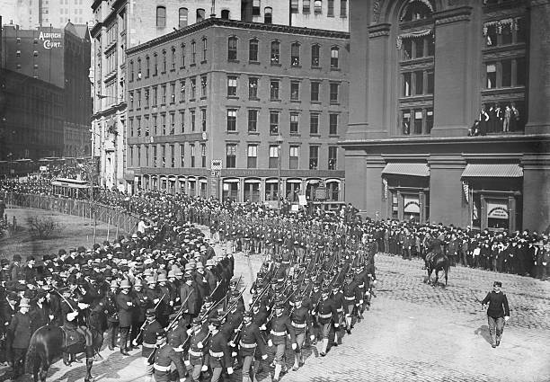 Parade of Spanish-American War Veterans in New York City