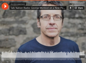 George Monbiot on Talk Nation Radio