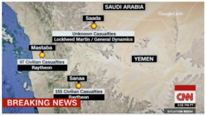War casualty numbers in Yemen