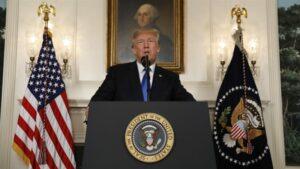 Trump parle de l'Iran