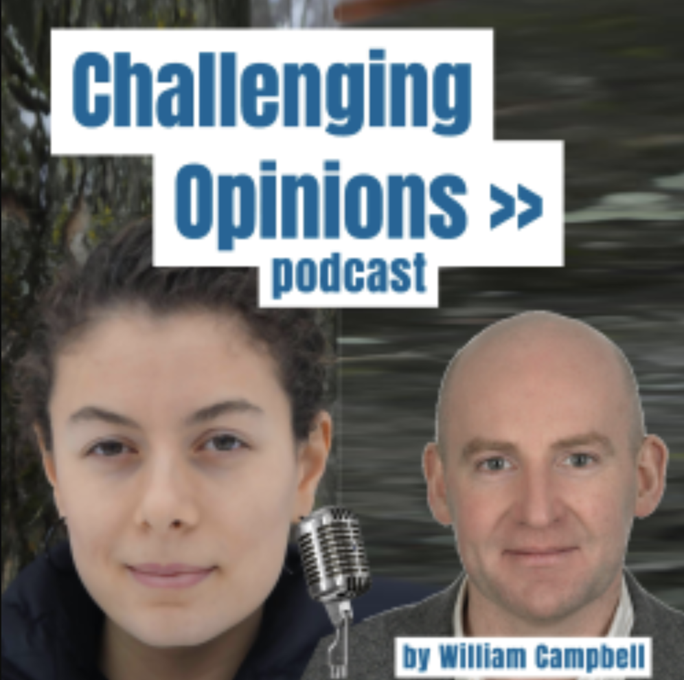 Greta Zarro on Challenging Opinions podcast