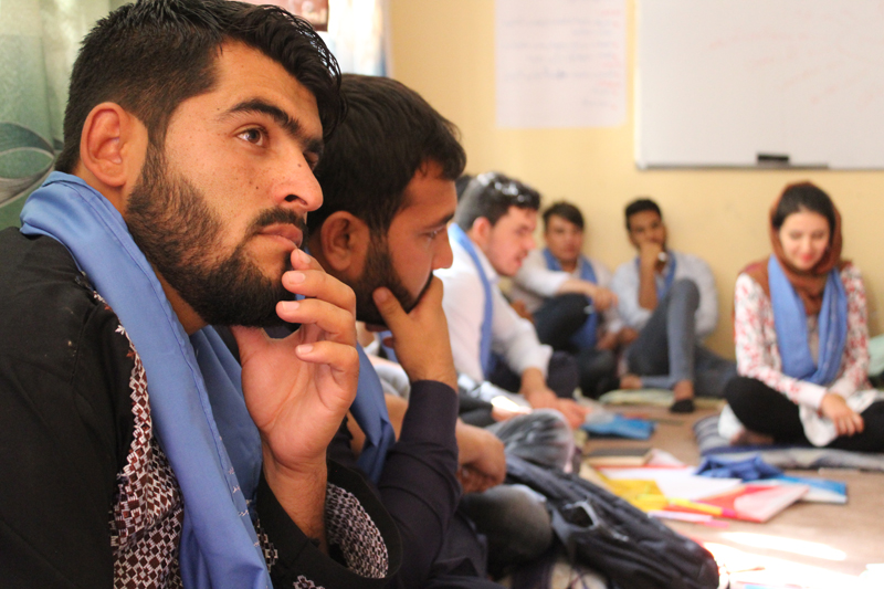 Nurturing honest conversations and different mindsets in Afghanistan