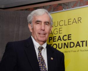 David Krieger von der Nuclear Age Peace Foundation