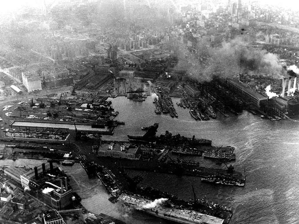 Brooklyn Navy Yard Docks, World War 2