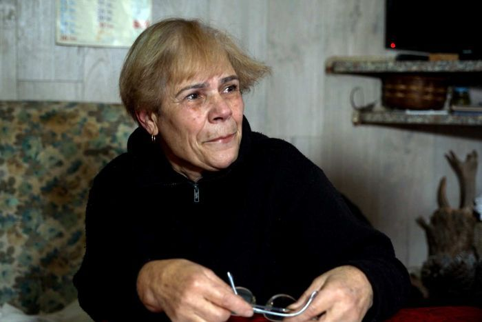 "PHOTO: Ms Farci says her ""whole world collapses"" after her daughter's death. (Foreign Correspondent)"