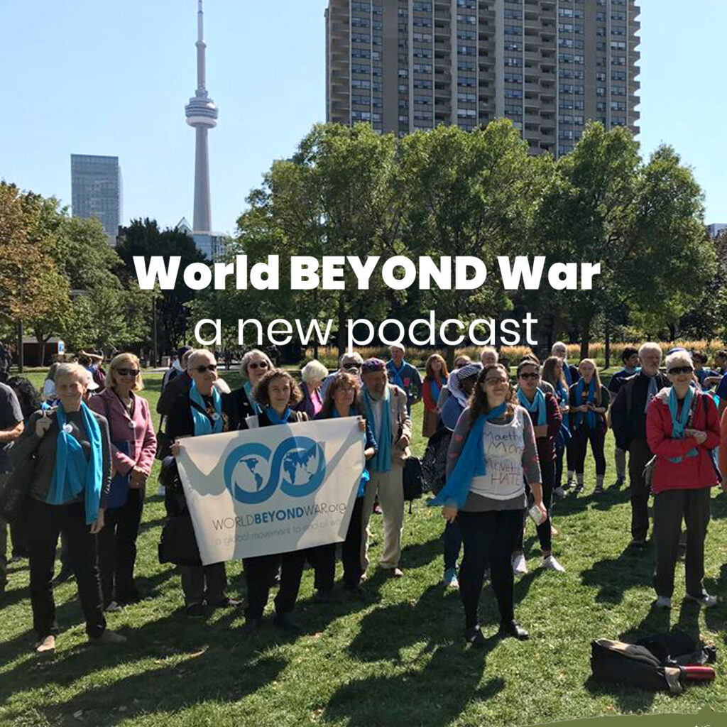 World Beyond War: Un nouveau podcast