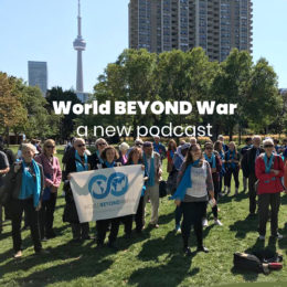 World BEYOND War Podcast Episodio 14: Una mirada global a la pandemia con Jeannie Toschi Marazzani Visconti y Gabriel Aguirre