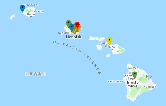 US military bases in Hawaii