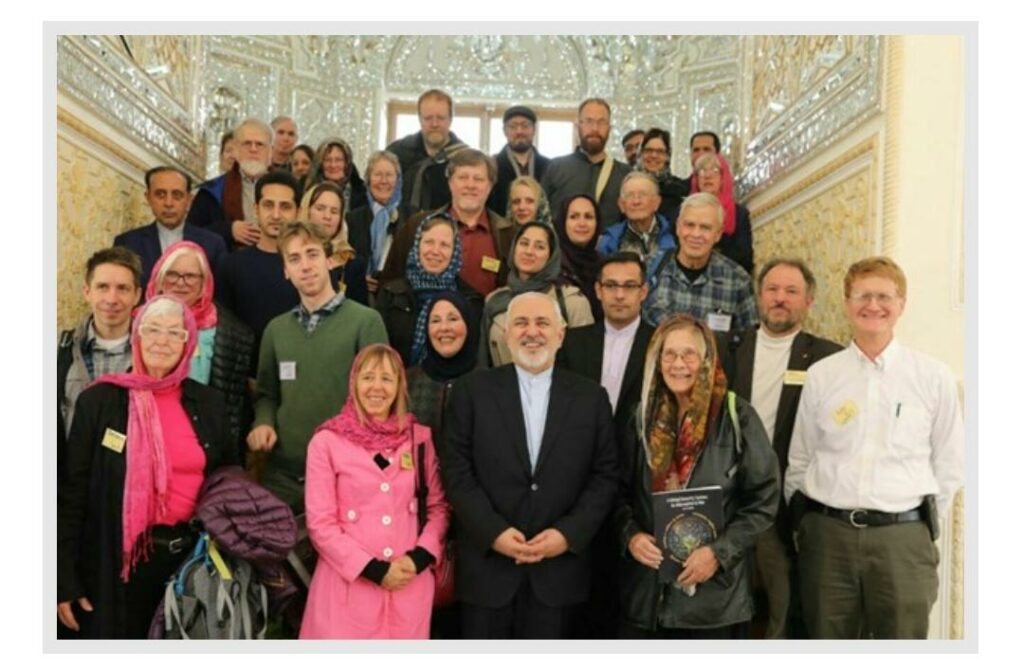Iran Peace Delegation meets with Foreign Policy Zarif, Feb 27, 2019