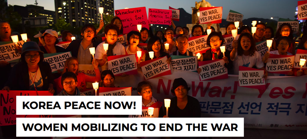 Korea Peace Now! Women Mobilizing