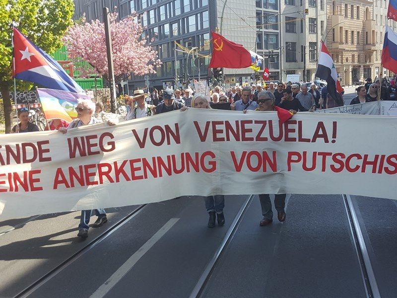 Disarmament protest in Berlin