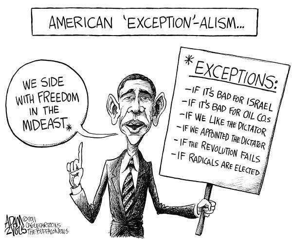 "Obama's ""Exceptions"""