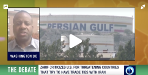 Video debate about Iran sanctions