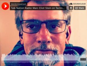 Marc Eliot Stein im Talk Nation Radio