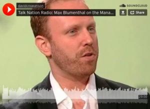 Max Blumenthal im Talk Nation Radio