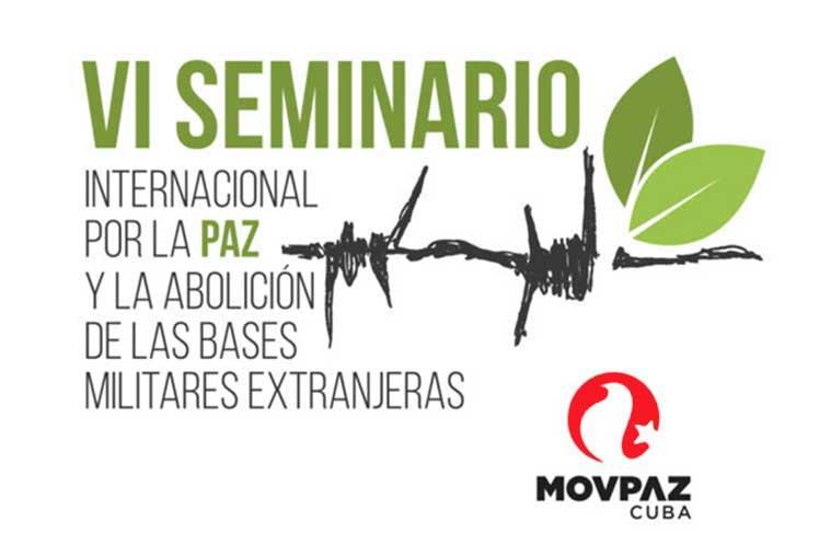 VI Seminario Internacional por la paz