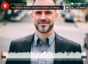 Stephen Roblin en Talk Nation Radio