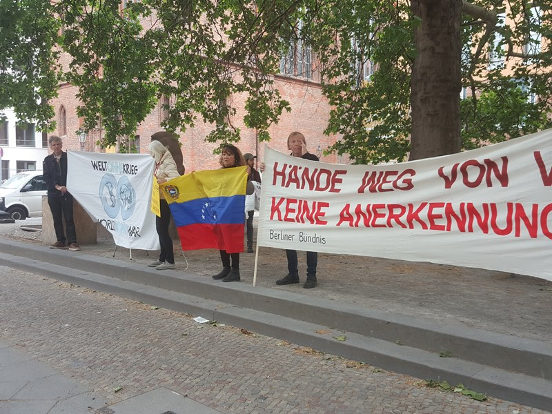 Berlin solidarity for Venezuela