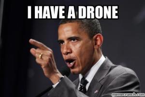 Obama ima dronu