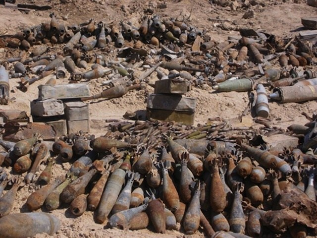 Bombs in Laos
