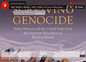 Talk Nation Radio: Jeff Ostler pri Surviving Genocide