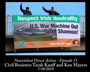 Tarak Kauff y Ken Mayers en Irlanda