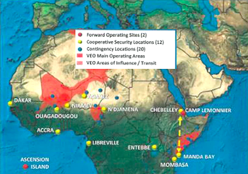 US bases in Africa