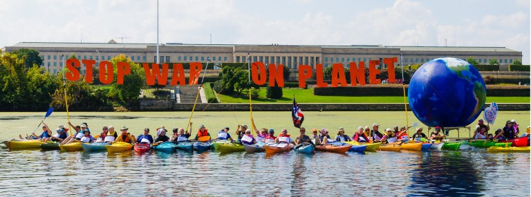 Peace Flotilla in Washington DC