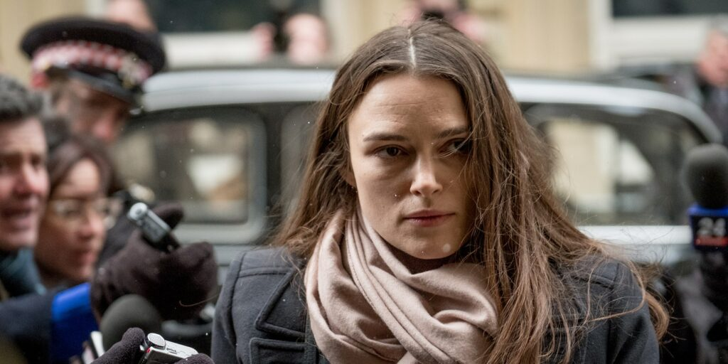 Kiera Knightely en Secretos Oficiales