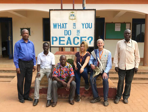 Peace activists in South Sudan