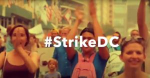 #StrikeDC