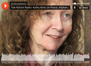 Kathy Kelly on Talk Nation Radio