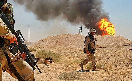 Oil fields are battlefields