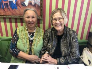 Maria Emelyanova and Ann Wright