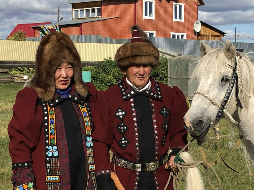 Friends in Yakutsk. Photo by Ann Wright.