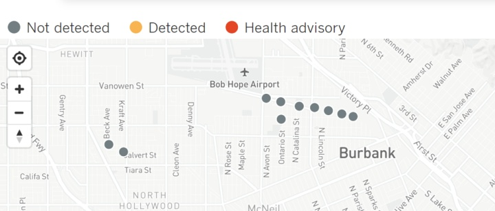 LA Times interactive map of PFAS pollution that only tells half the story