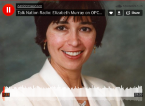 Elizabeth Murray on Talk Nation Radio