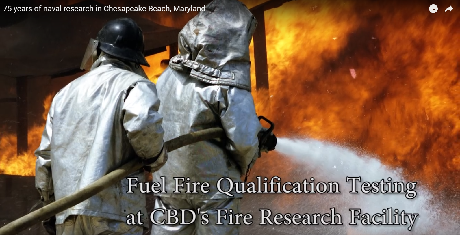 Chesapeake Beach firefighters